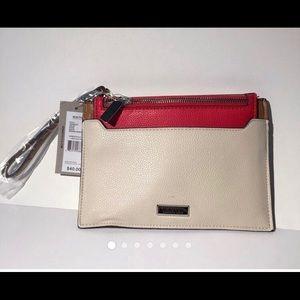 Kenneth Cole Reaction wristlet clutch purse